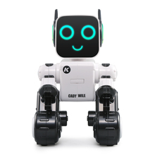 K3 Smart Robot Voice Recoding Assistant Education Coin Bank Touch Interactive Lovely Robots Kids Gifts Support Remote Control