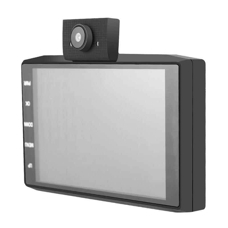 4 дюймовый Dash Cam Видеорегистраторы для автомобилей 3 Камера s объектив 1080P Full HD с зеркалом заднего вида Камера Dash Cam вождения Регистраторы