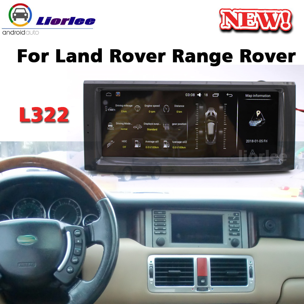 Car Multimedia Audio Player For Land Rover Range Rover Vogue L322 2001~2012 Radio <font><b>Android</b></font> Stereo Head Unit <font><b>Navigation</b></font> System image