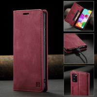 Funda RFID para Samsung Galaxy A41 A 41, Funda de cuero con tapa magnética para teléfono, librería A prueba de golpes para Samsung A41
