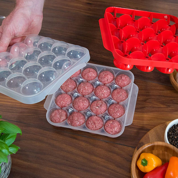 Kitchen Plastic Meatball Mold Making Fish Melon Ball