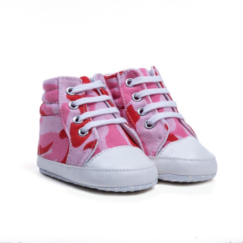 2020 Baby Shoes First Walker Boys Girl High Top Shoe Infant Newborn Canvas Prewalker Children Booties Kids Boots Sport SneakerA