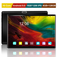 "New 10 core 1920*1200 IPS 10 inch 4G LTE Tablet PC Android 9.0 6GB+128GB Dual SIM card WIFI Google Play Smart tablets 10.1""+Gift