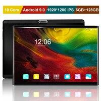 Oferta https://ae01.alicdn.com/kf/H47e53c0cc0514ac88837d9ae9f38bf4aF/Nuevo 10 core 1920 1200 IPS de 10 pulgadas 4G LTE Tablet PC Android 9 0.jpg