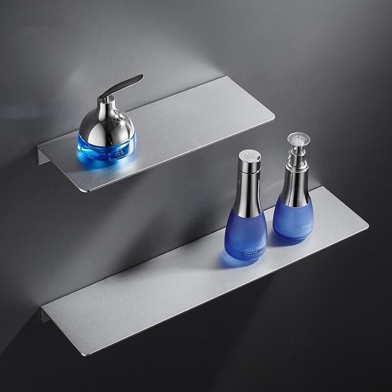 Espacio de perforaci/ón libre ba/ño de aluminio estante triangular estante de almacenamiento inodoro esquina de la esquina de la pared Organizador de ducha Rack de almacenamiento