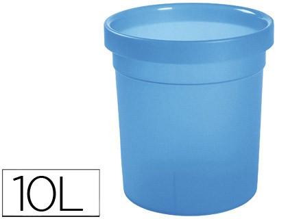 BIN PLASTICO OFFISYS CAPACITY 10 LITER BLUE INDIGO