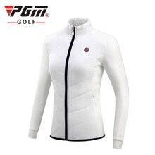 PGM Новинка, спортивная одежда для гольфа, женская осенняя и зимняя куртка для гольфа, ветронепроницаемая теплая куртка с начесом, хлопковая куртка для гольфа, S-XL