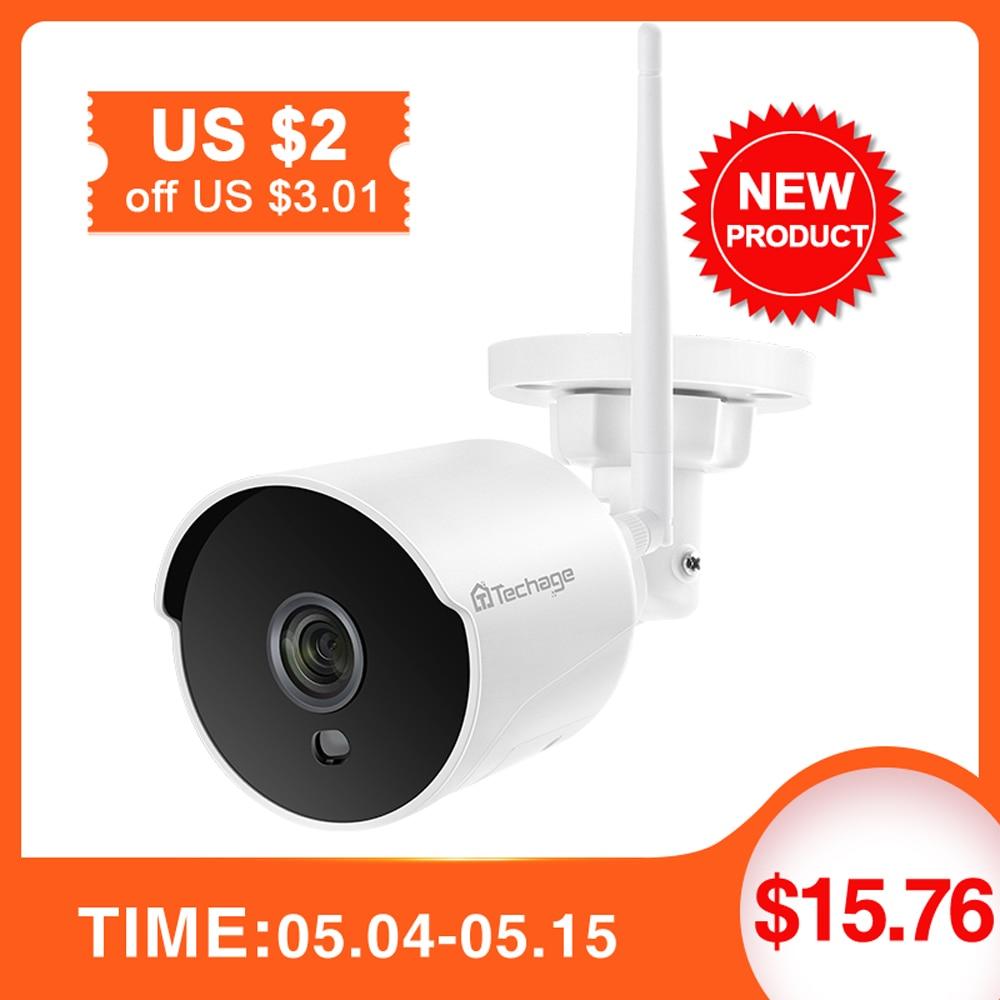 1080P Wifi CCTV Camera IP  2 Way Audio Outdoor Weatherproof Night Vision  Security Surveillance Camera With TF Slot
