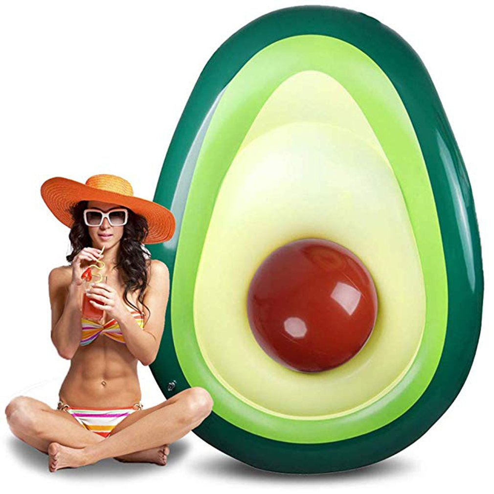 Avocado Inflatable Pool Float For Adult Kids Swimming Ring Inflatable Para Swimming Mattress Inflatable Pool Toys