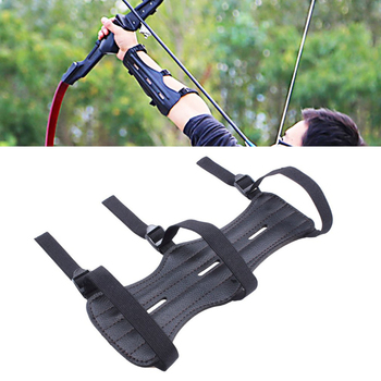 Archery Equipment Arm Guard Protection Forearm Safe Adjustable Bow Arrow Hunting Shooting Training Accessories Protector 1