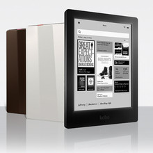 Электронная книга Kobo Aura HD, 6,8 дюйма, 1440x1080, Wi-Fi, сенсорный экран