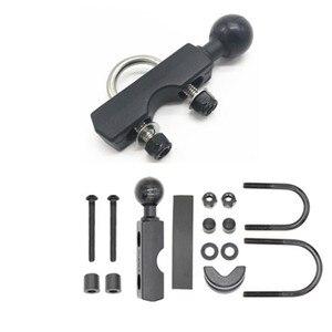 Image 5 - Jadkinsta motocicleta guiador base de controle embreagem do freio combo u parafuso montagem com 1 polegada de borracha bola montagem para gopro cam