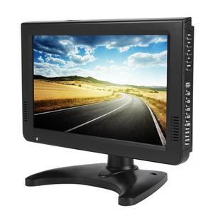 Image 1 - スマートカーテレビ 10 インチ DVB T T2 16:9 hd 1080 p デジタルアナログポータブルテレビカラーテレビプレーヤー用 eu プラグ