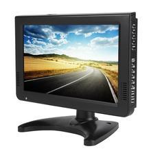 Smart TV Ô Tô 10 Inch DVB T T2 16:9 HD 1080P Analog Di Động TIVI Truyền Hình Màu Cầu Thủ Nhà Xe Ô Tô phích Cắm Châu Âu