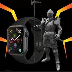 Image 2 - 3D Hydrogel Film plein bord couverture souple protecteur décran protecteur pour iwatch Apple Watch série 2/3/4/5/6/SE 38mm 42mm 40mm 44mm