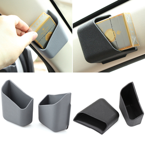 Car Organizer Auto Pillar Storage Box for mercedes cla opel zafira b renault trafic golf mk4 audi a4 b5 megane 3 tucson 2017(China)
