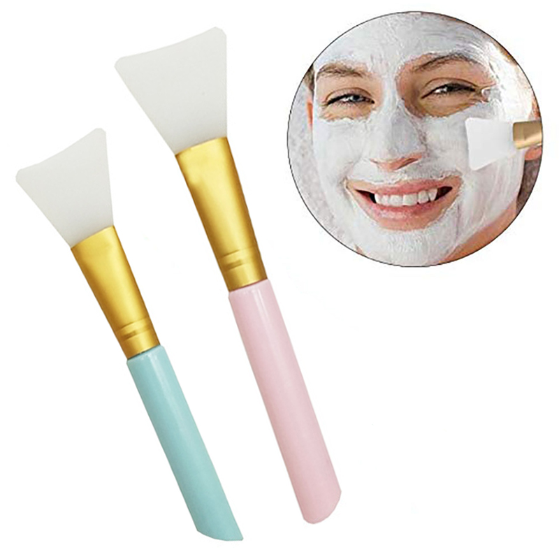 1Pcs Professional Soft Silicone Mask Brushes Foundation Makeup Brushes Cosmetic Make Up Face Skin Care Beauty Makeup Tools