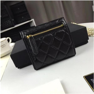 Luxury Quilted Wallet Women ID