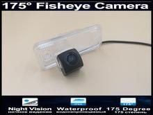 цена на 175 Degree 1080P Fisheye Lens Reverse Parking Car Rear view Camera for Hyundai Santa Fe IX45 XL 2013 2014 2015 Car Camera