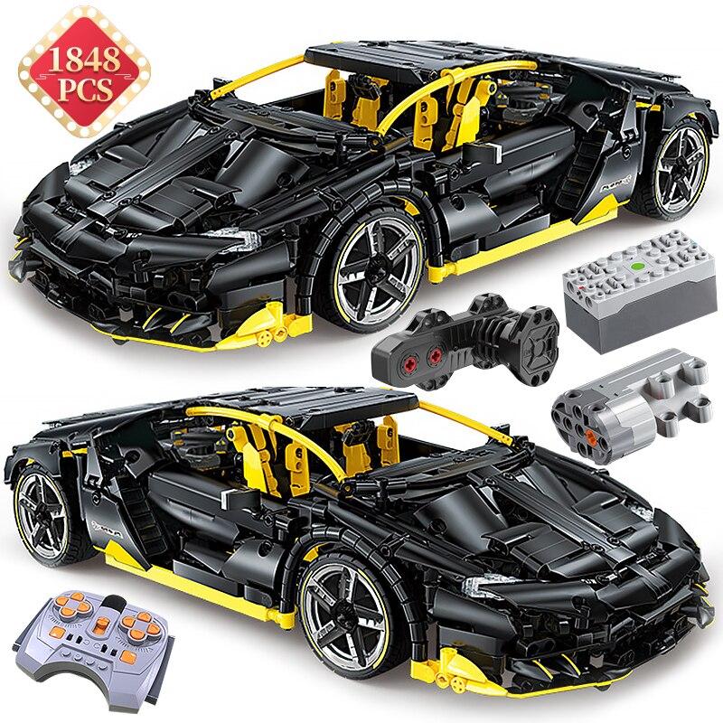 Технический автомобиль Supercar Centennial Edition, строительные блоки, техническая статическая модель, набор MOC, автомобильные блоки, игрушки, подарок ...