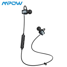 Mpow Bluetooth Headphones Portable Magnetic Stereo Earphones Wireless Waterproof Sports Earbuds With Mic for Running Jogging