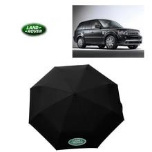 Зонт с логотипом автомобиля складной Большой качественный Подарочный зимний карман для Land Rover
