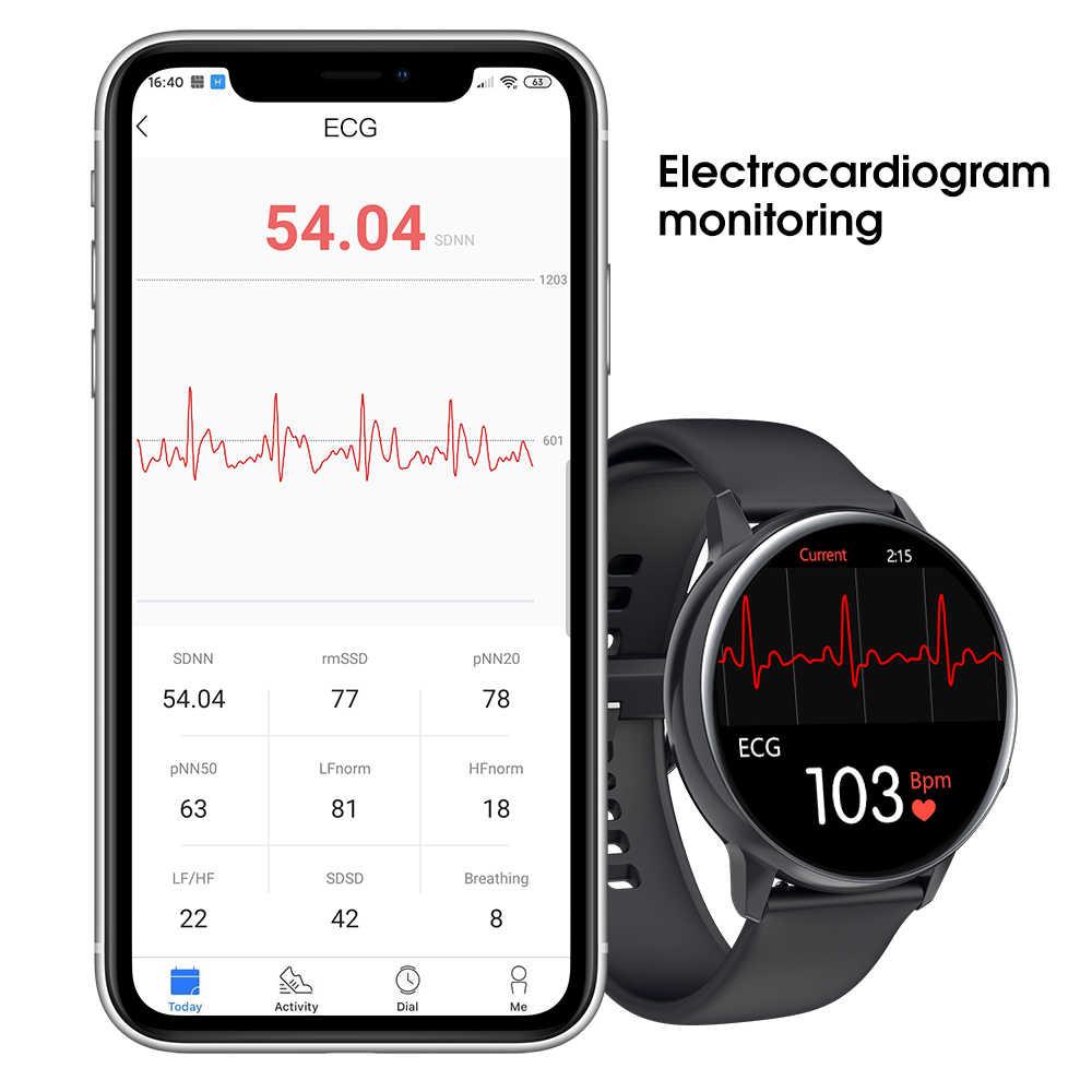 696 SG2 Full Touch Amoled 390*390 HD Bildschirm Smart Uhr Männer Drahtlose Lade IP68 Wasserdicht Herz Rate Mode smartwatch BT 5