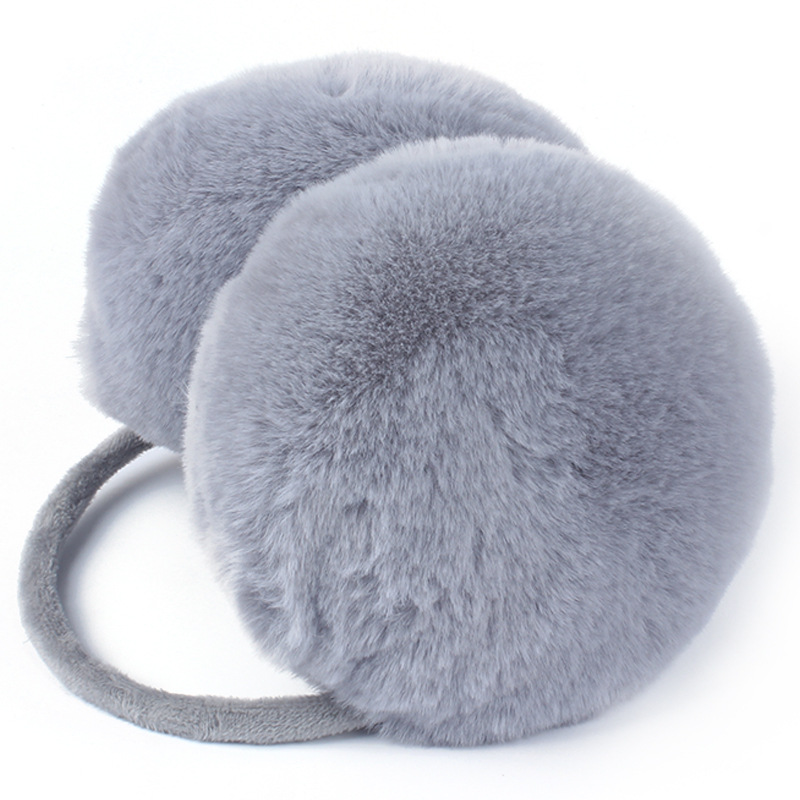Cute Faux Fur Earmuffs Ear Muff Protection Girl Plush Winter Accessories For Women Ear Muffs Ear Warmer Muffs Soft Fluffy Girls