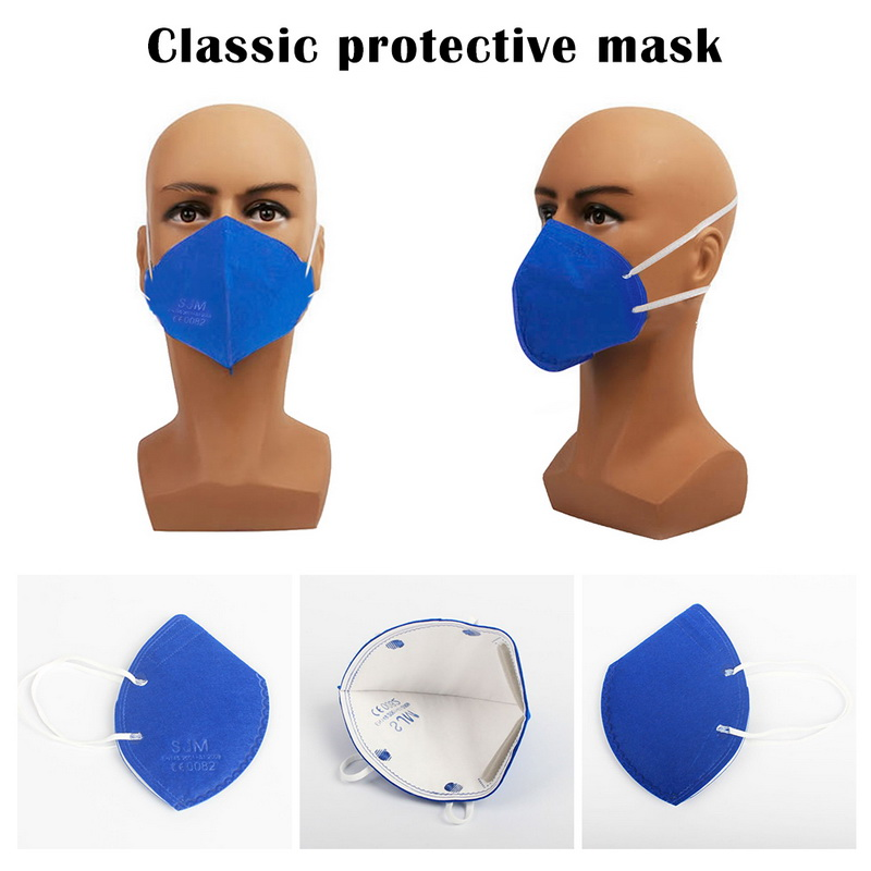 N95 Adult Vertical Folding Nonwoven Valved Dust Mask  2.5 Respirator Mouth Mask With Valve Gauze Haza Mask Women Men