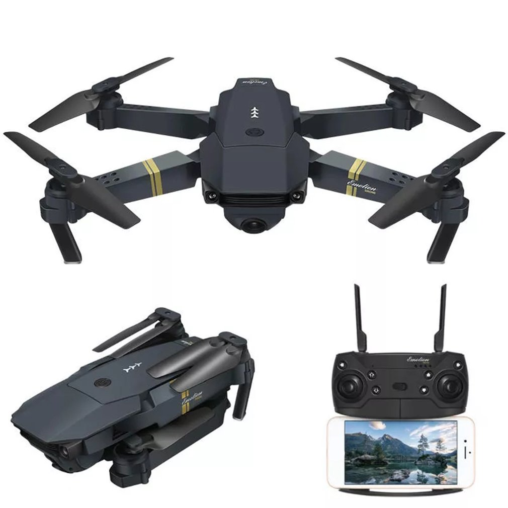 Battery Powered E58 WIFI FPV RC Quadcopter Drone With 720P/1080P HD Wide Angle Camera 1
