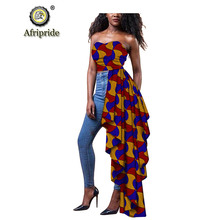 African coats for women pure cotton plus size sexy kanga clothing robe africaine vetement femme AFRIPRIDE S1924011