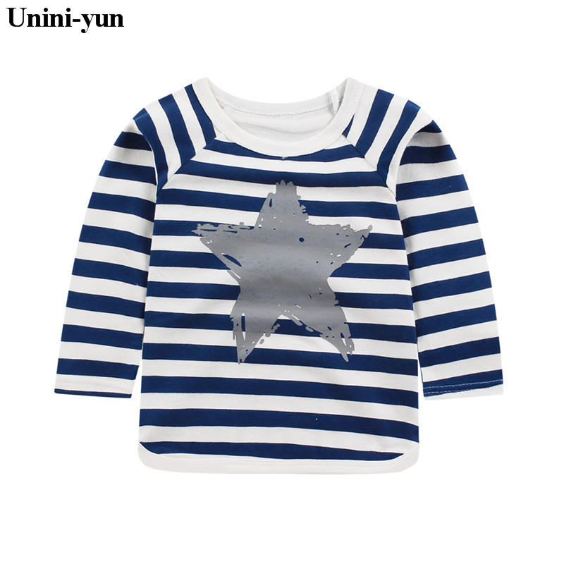 Retail Baby Girls Tops Children T Shirts Long Sleeve 2018 Autumn Kids Tee Shirt Spring Striped Brand T-shirt Children Blusas