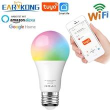 Tuya Lamp Smart WiFi Bulb E27 Compatible With Alexa Google Home Tuya APP Timer Dimmer For AC 100-240V 7.5W