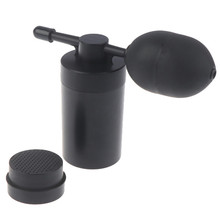 1set Hair Building Fibers Applicator With Bottle Powder Pump Black Color Fiber Hair Care Beauty Tools With Free Comb