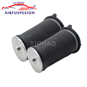 Image 3 - Free shipping 4pcs Gen II front rear Air Spring Bag for Range Rover P38A P38 Air Ride Suspension Springs REB000550 RKB101460