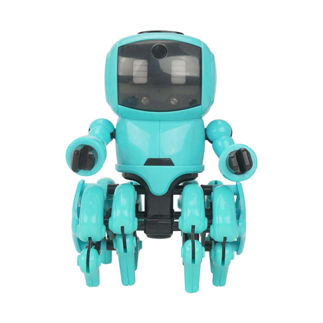 New Hot DIY Little Eight Robot Assembly Smart Follow Robot Infrared Obstacle Avoidance Gesture Sensing Toy