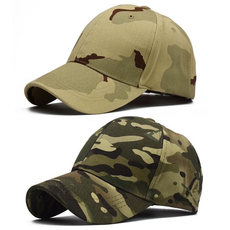 Sports Baseball Duck Tongue Hat Women Men Military Training Cap Outdoor Hunting Camouflage Hat Spring Summer 100% Cotton Sun Cap