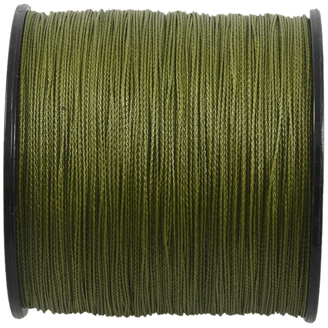 500 M 30 LB 0.26mm żyłka wytrzymałość PE pleciony 4 nici zielony