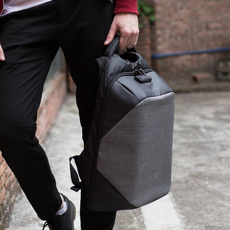 K กระเป๋าเป้สะพายหลังกระเป๋าสำหรับ 15.6 นิ้วแล็ปท็อปกระเป๋าเป้สะพายหลังขนาดใหญ่ความจุ Stundet กระเป๋าเป้สะพายหลังสไตล์ลำลองกระเป๋ากันน้ำ-ใน กระเป๋าเป้ จาก สัมภาระและกระเป๋า บน   2