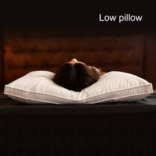 Bedding Pillow Hotel Alternative 5 Star Down Microfiber Fabric Neck Health Washable Soft White