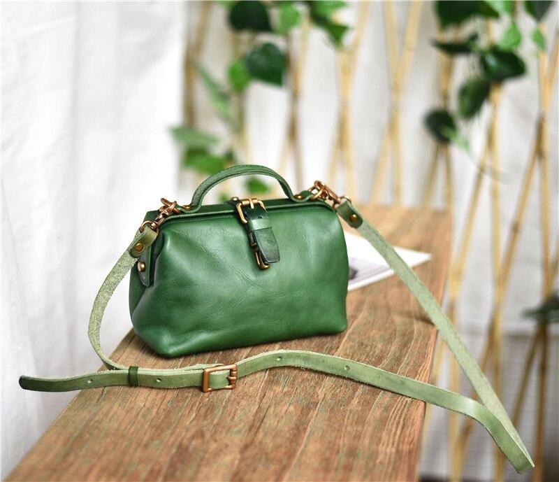 PNDME designer genuine leather ladies small shoulder messenger bag vintage casual high quality real cowhide women's mini handbag 10