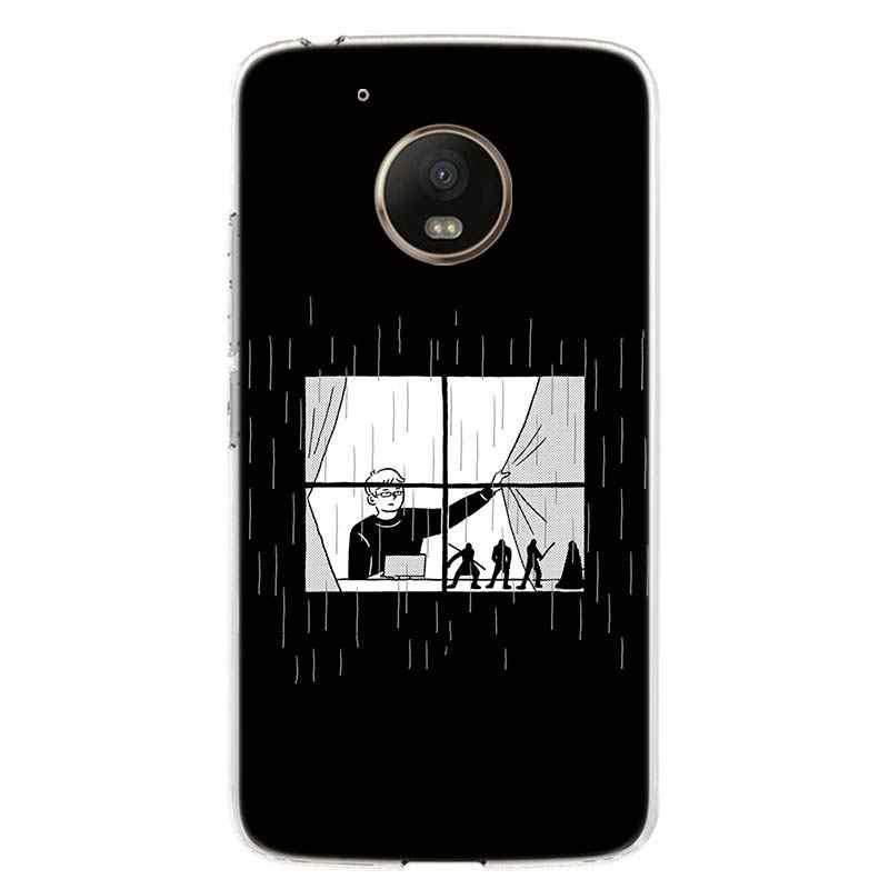 الهاتف جراب لهاتف Motorola موتو G8 G7 G6 G5S G5 G4 E6 E5 E4 زائد اللعب الطاقة واحد عمل X4 غطاء كوكه