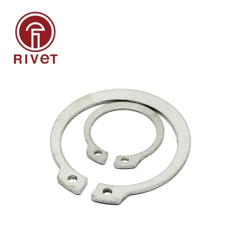 A2 304 Stainless Internal Circlips Retaining Rings C Clip M8-M75 Shaft Diameters