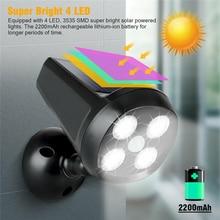 Garden Led Solar Lamp PIR Motion Sensor Lights 3-5 Meters IP65 Waterproof For Outdoor Wall Street Garden Decoration Lighting