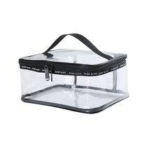 Cosmetic-Bag Trousse Clear Transparent Large Travel PVC Male Men's