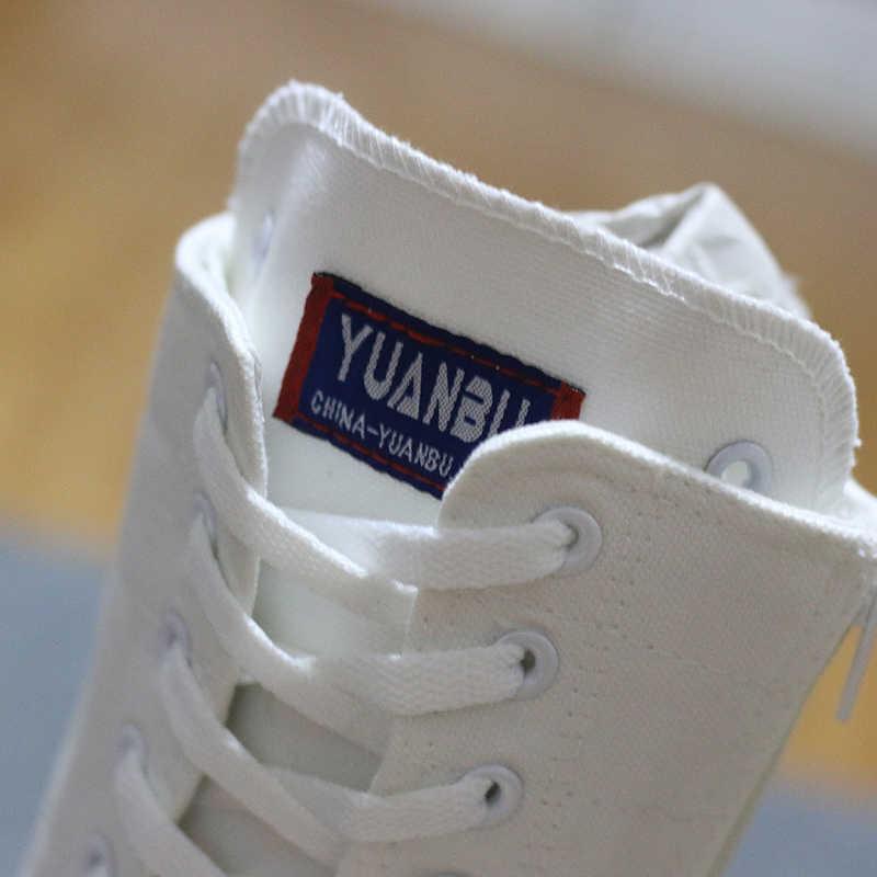 2019 Lente Herfst Vrouwen Schoenen Canvas Casual Hoge Schoenen Lange Laarzen Lace-Up Rits Comfortabele Platte Laarzen Sneakers maat 34-43