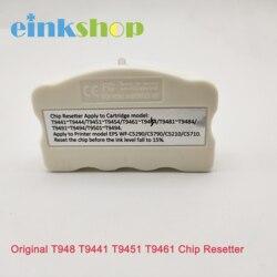 Einkshop oryginalne wkłady Chip Resetter T948 T9441 T9451 T9461 dla EPSON WorkForce Pro WF-C5210DW WF-C5290DW WF-C5710DWF