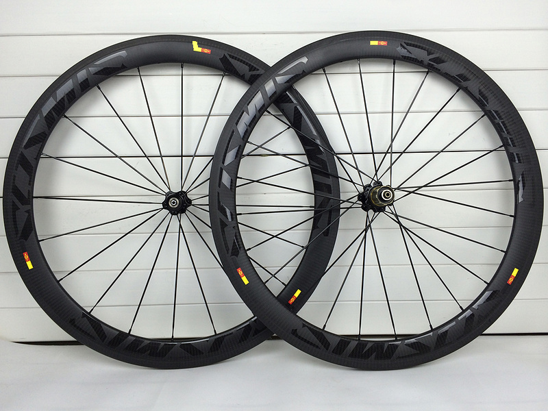50mm Carbon Road Bike Wheels 700C 23mm Clincher Tubular 3K Twill Matte Carbon Fiber Wheelset XDB Shipping 1 Year Warranty