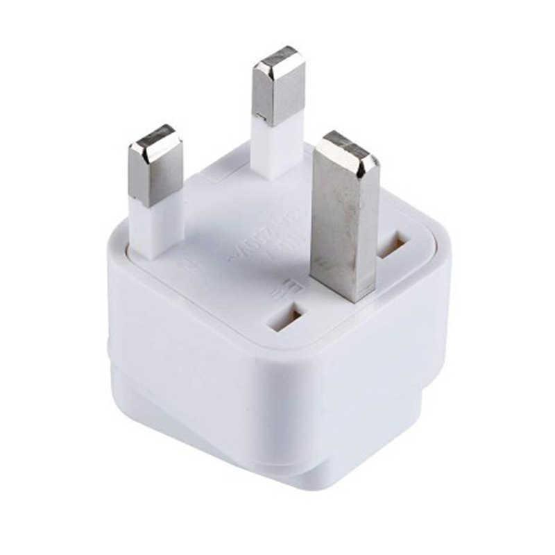 Новинка 1 шт. Профессиональный EU 2 Pin To UK 3 Pin штепсельная вилка Универсальный адаптер переменного тока дорожный конвертер европейские штепсельные адаптеры аксессуары
