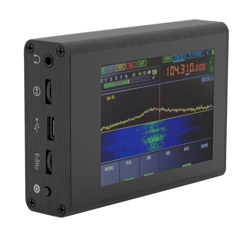 Новинка 50 кГц-200 МГц Малахитовый SDR коротковолновый радиоприемник Malahit DSP 3,5 дюймов пресс Sn DSP SDR HAM приемник
